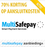 Korting aanbieding MultiSafepay