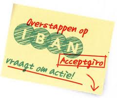 IBAN-Acceptgiro