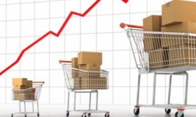 Groei omzet internetbedrijven