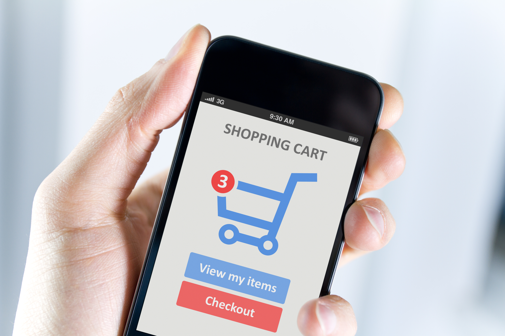 mobile commerce applicatie