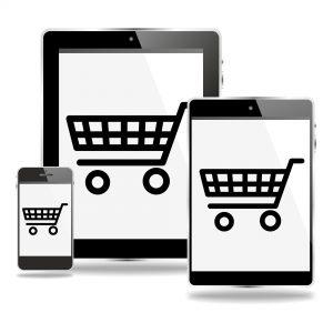 M-commerce smartphone
