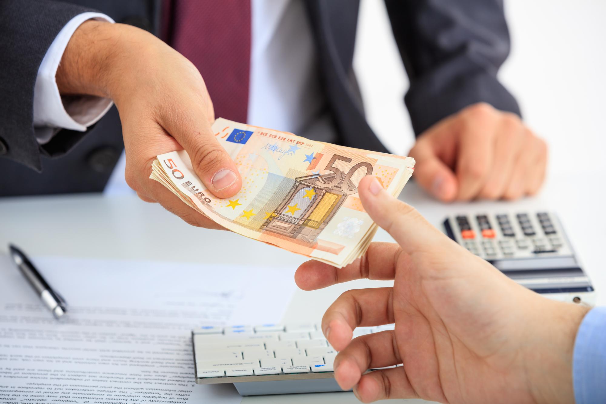 Online contant betalen