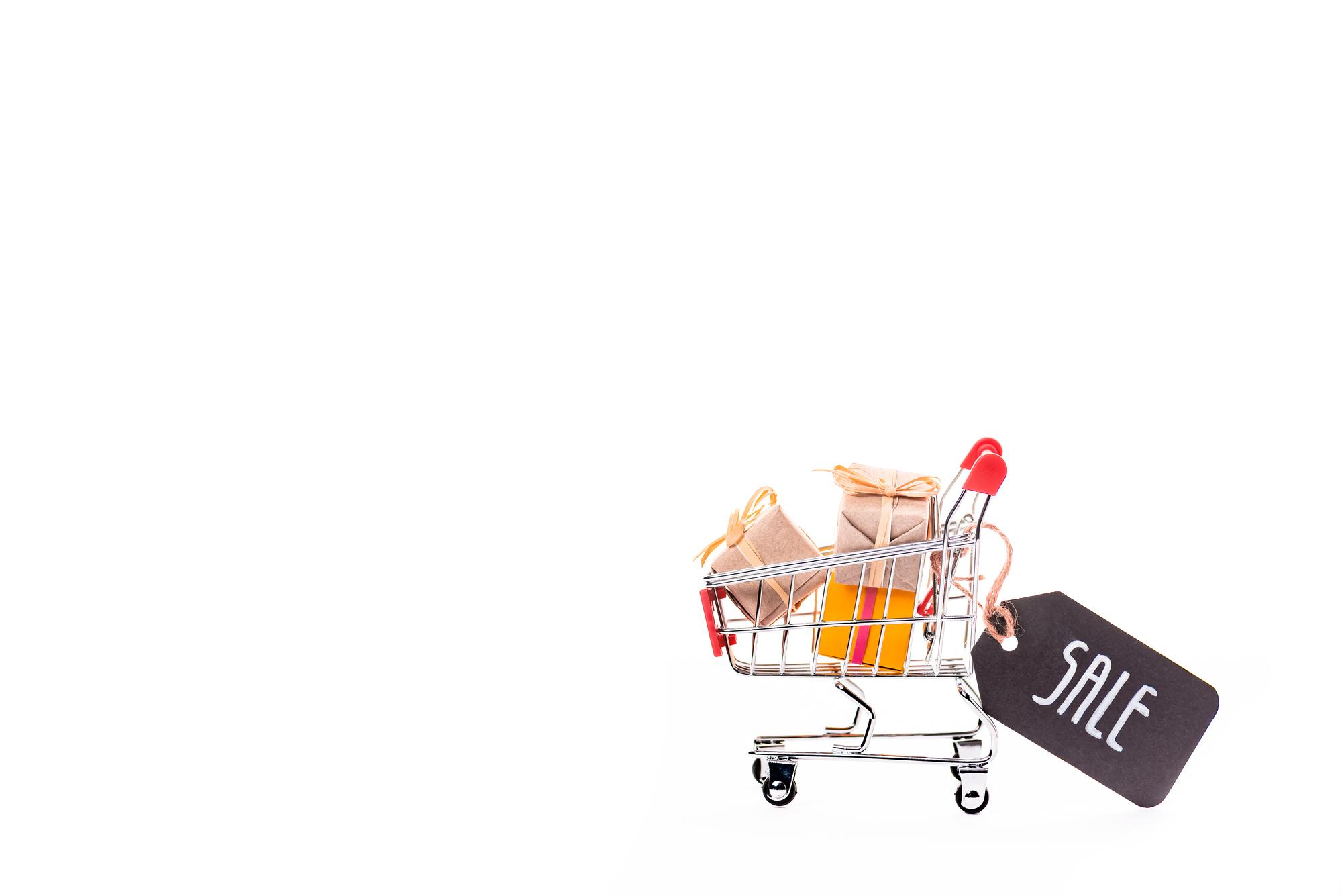 Aanbieding online shoppen