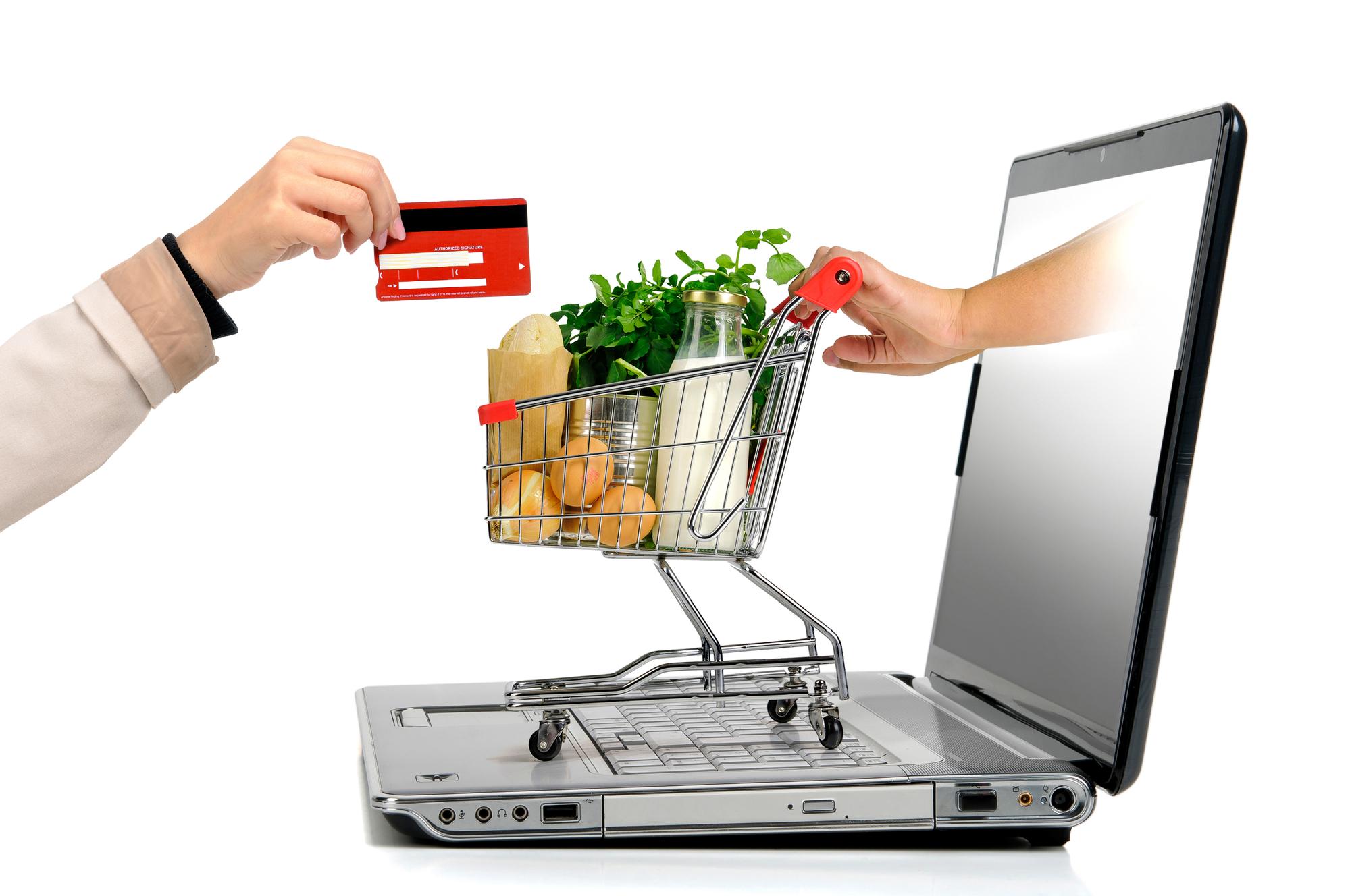online boodschappen
